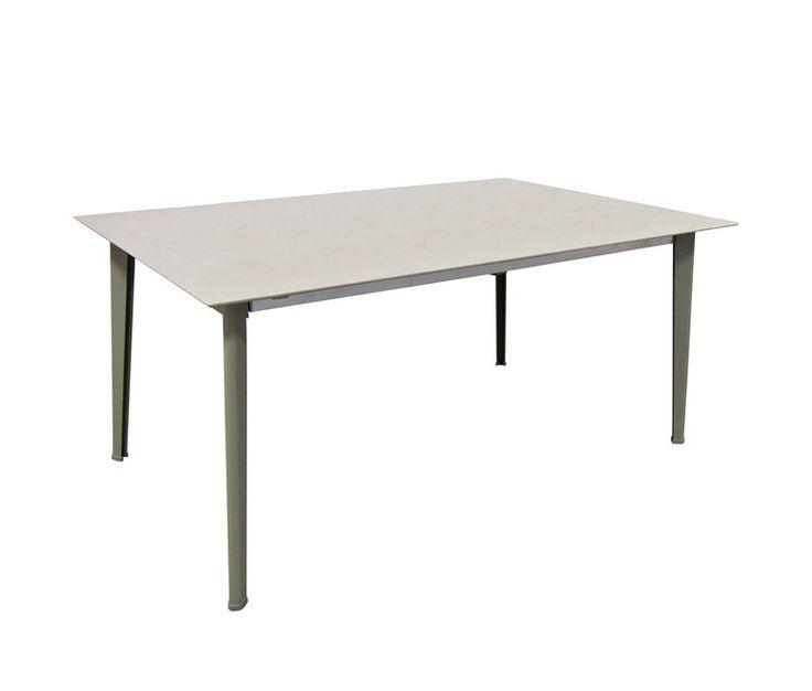 Rectangular table with ceramic top 180x100