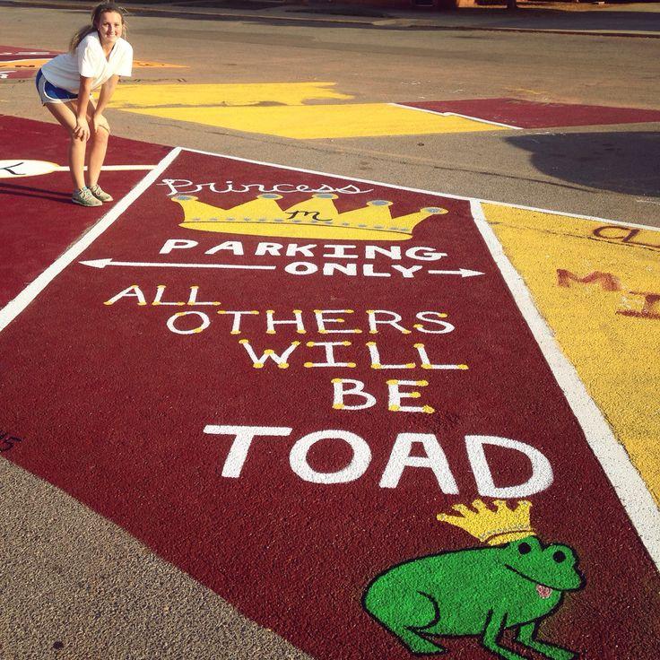 23 Best High School Parking Spot Ideas Images On Pinterest