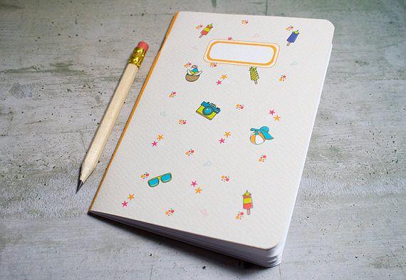 Notebook  Quaderno SUMMER 2017