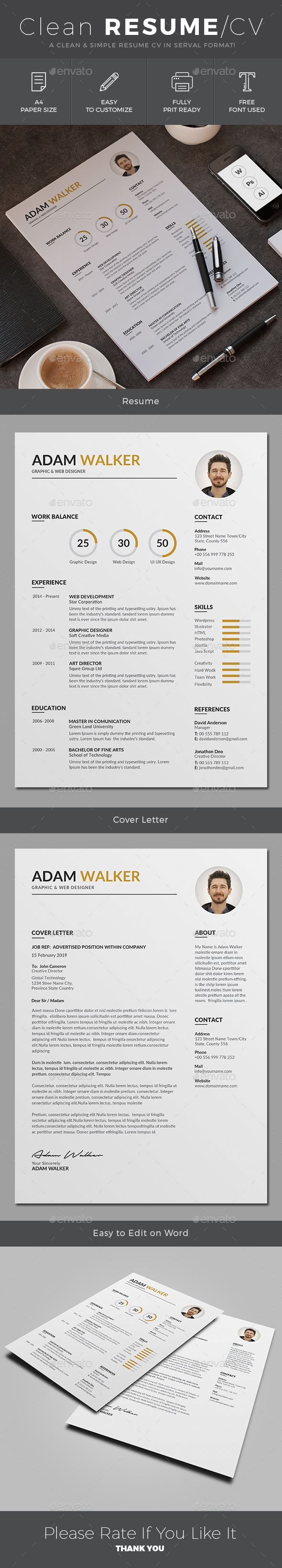 Resume 392 best resumes images on Pinterest