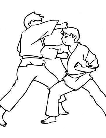 Insights Elbow Hit Opponent Coloring Pages For Kids Printable Athletes With Disabilities