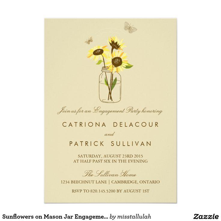 859 best *Sunflower Wedding Invitations images on Pinterest ...