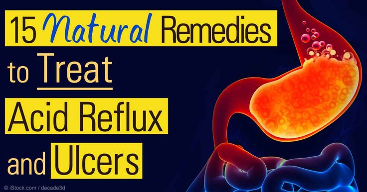 You don't need a drug to treat gastric problems like acid reflux and ulcer -- here are 15 natural remedies.