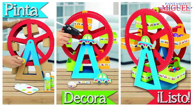Haz tu propia rueda de la fortuna con dulces, Perfecto para adornar tu barra de dulces.