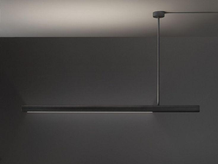 Lampada a sospensione a LED a luce diretta e indiretta ELLE - Olev by CLM Illuminazione