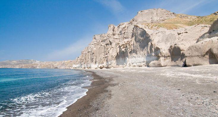 White Beach Santorini, Greece