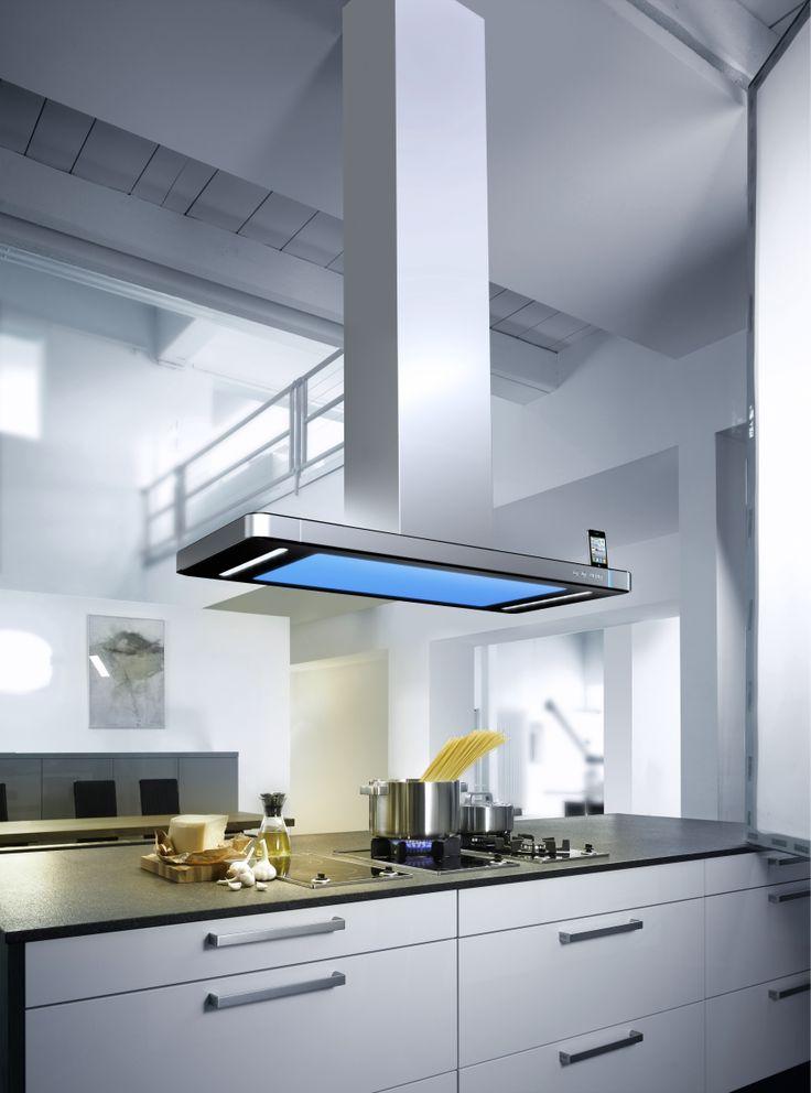 Conecta iluminación Gutmann Pinterest - hotte integree dans meuble haut
