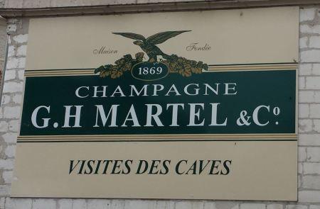 Martel Champagne House, Reims, France