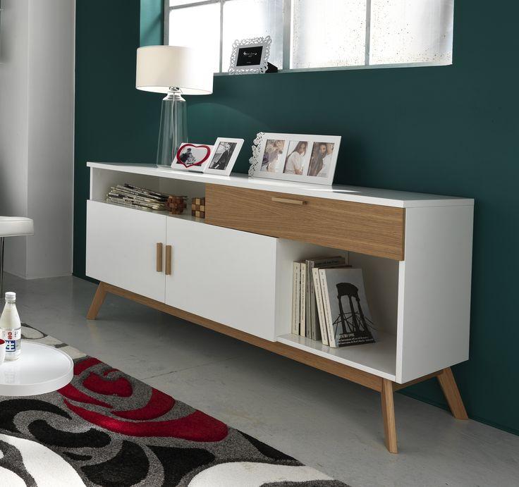 sideboard KYRA 2 swing doors, 1 drawer