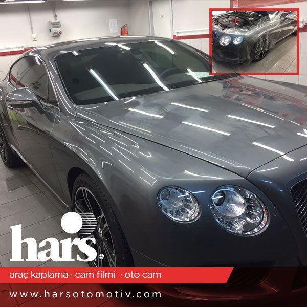 Bentley Continental GT araç için şeffaf kaplama uyguladık. Büyük markaların tercihi Hars Otomotiv. www.harsoto.com #bentley #bugatti #chiron #veyron #oracal #orafol #araçkaplama #arackaplama #llumar #camfilmi #modifiye #otocam #car #maserati #ferrari #lamborghini #astonmartin #pagani #rollsroyce #mclaren #porsche #zenvo #maybach #koenigsegg