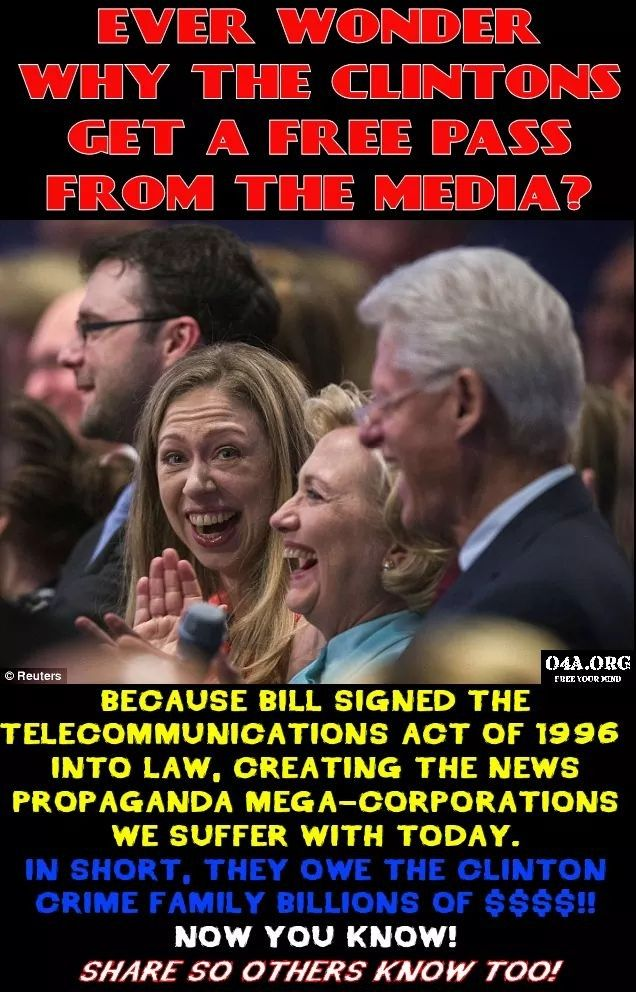 Bilderberg owned mainstream media LIES, they have an agenda to destroy President Trump and America as we know it to implement a new world order-One government, economy and religion-PURE EVIL