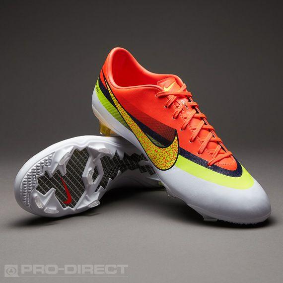 nike vapor sneakers football boots orange nike