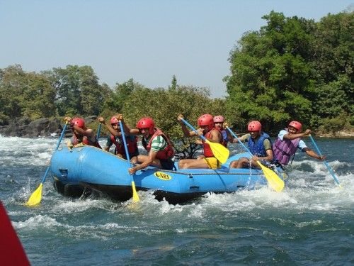 Dandeli - adventure places around hyderabad These are some of the best adventure places around Hyderabad. Besides, if you are looking for a casual outing, Bidar, Warangal and Hampi are also worth visiting. Places around Vijayawada and Vishakhapatnam (Vizag) can boast of being the best adventure place close to Hyderabad.