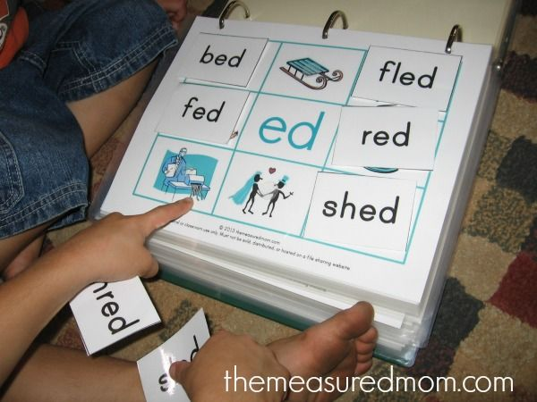 Print seven free mats to help your child read short i word families.