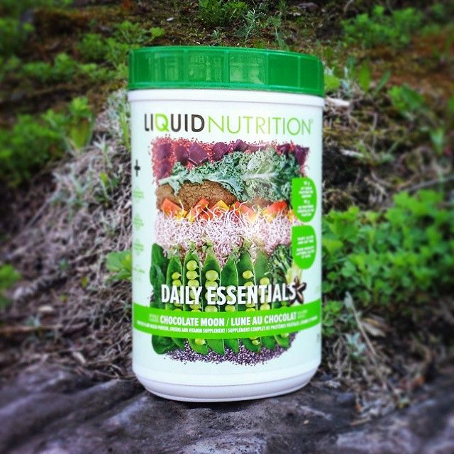 Try our Daily Essentials, a complete #plantbased protein, greens and vitamin supplement!  #health #protein #delicious #nutrition #organic #vegan #liquidnutrition