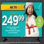 Haier 49-inch 4k UHD TV for $249.99 at Kohls