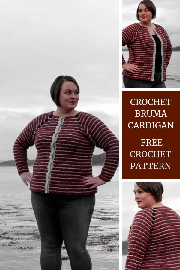 Crochet Bruma Cardigan Free Crochet Pattern Crochet Sweater