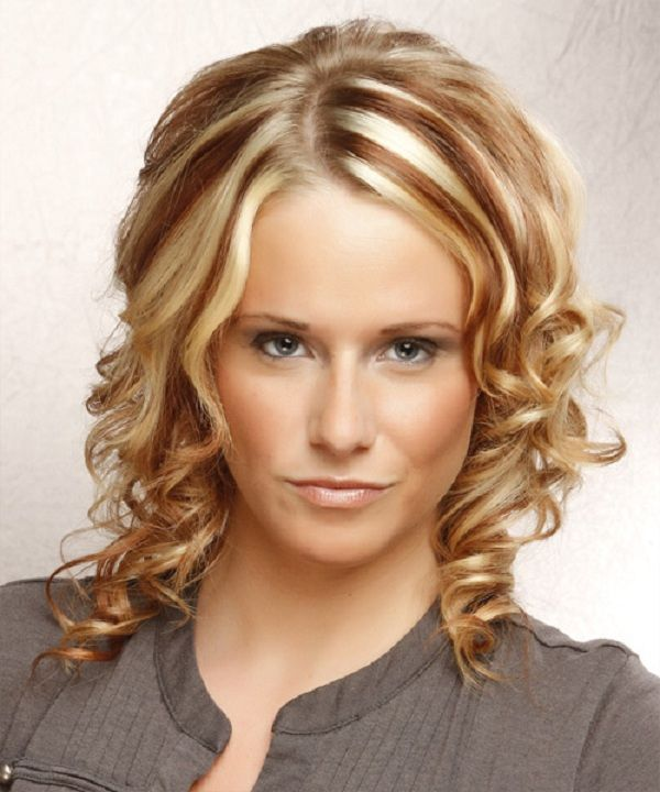 1000+ Ideas About Medium Length Curly Hairstyles On