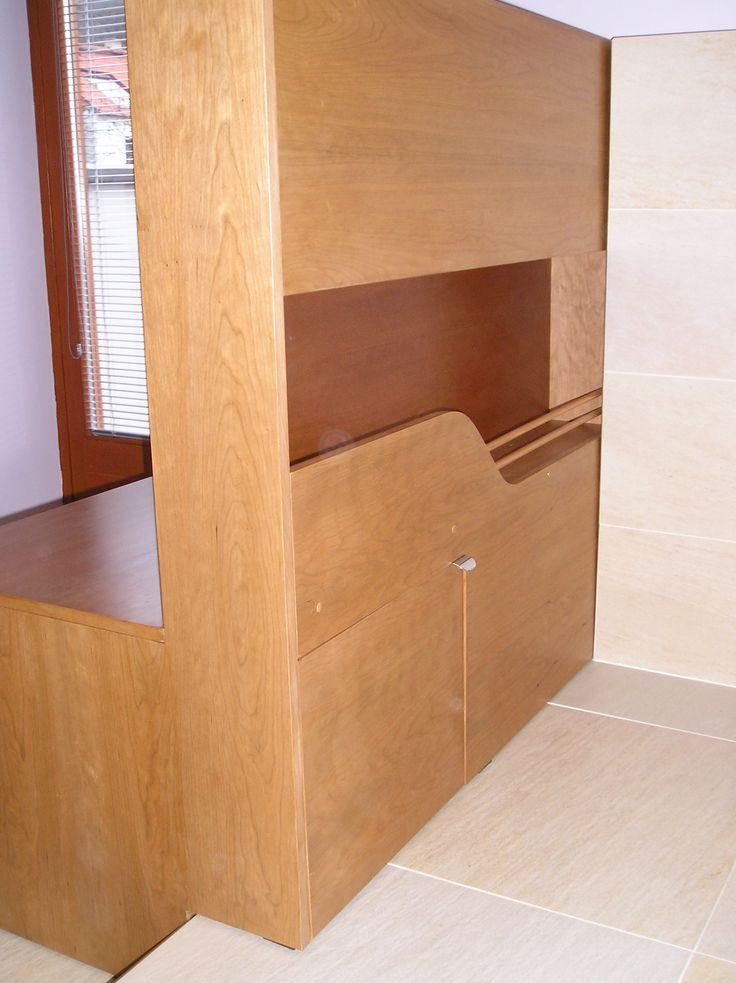 Koupelna v moderním stylu - Truhlářství Mašín