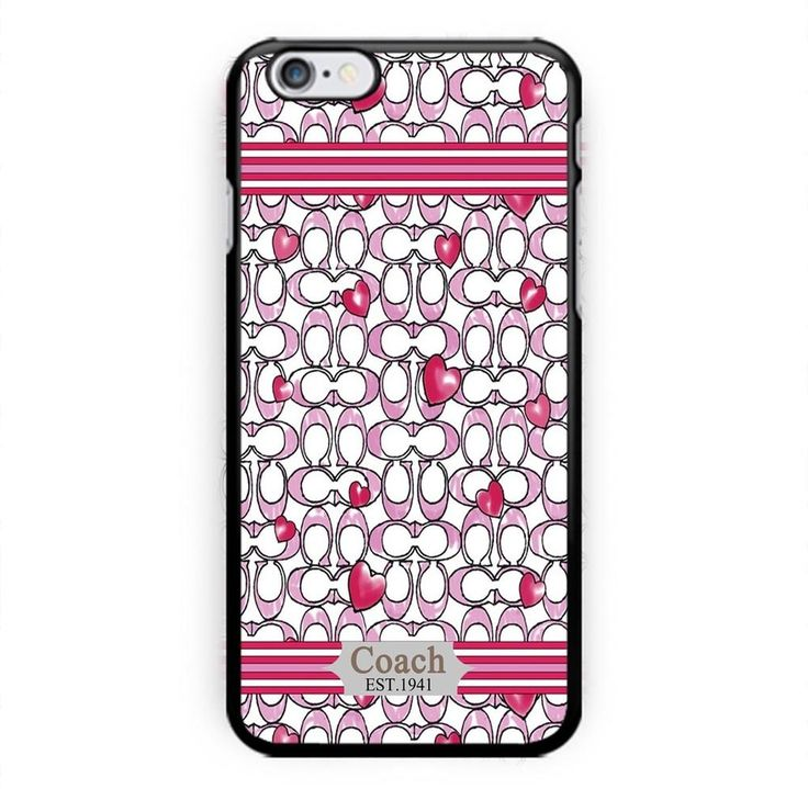 HOT CHEAP Coach Love Fashion Print On Hard Plastic CASE COVER For iPhone 6/6s 7 #UnbrandedGeneric
