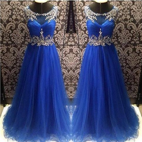 Blue+prom+dress,+tulle+prom+dress,+long+prom+dress,+inexpensive+prom+dress,+junior+prom+dress,+formal+prom+dress,+elegant+prom+dresses,+NDS375  This+long+prom+dress+could+be+custom+made,+there+are+no+extra+cost+to+do+custom+size+and+color.  Description+of+long+prom+dress 1,+Material:+tulle,+...