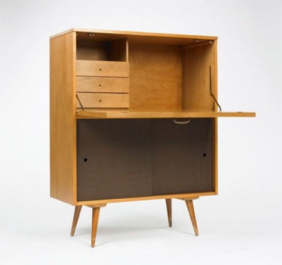 paul mccobb dropfront desk winchendon usa c wright