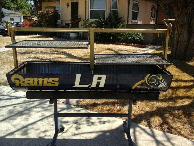 Los Angeles Rams Santa Maria BBQ Grill for sale $ 800 Dollars