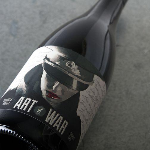 Art of War Shiraz 2011 #artofwar #shiraz #barossavalley #wine #photography #design #art #vinomofo