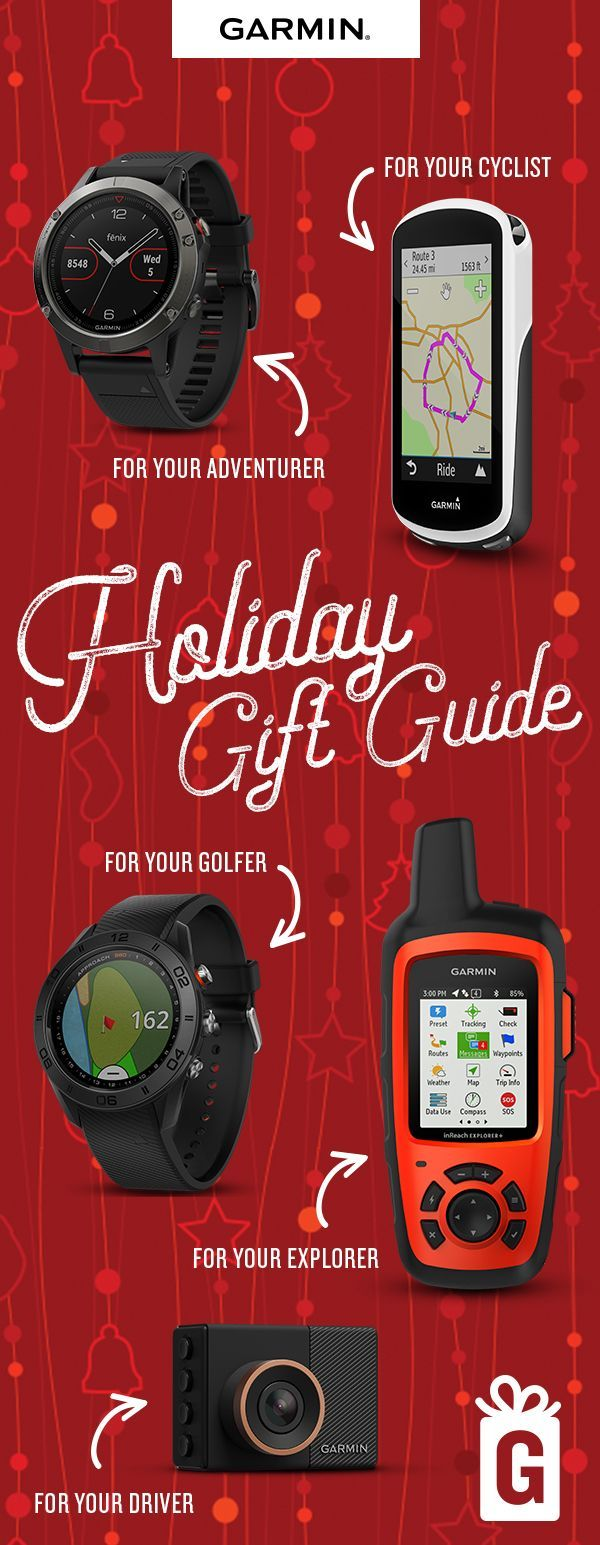 Thoughtful gift ideas for everyone on your list — from smart watches to satellite communicators and more.