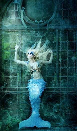 ♒ Mermaids Among Us ♒ art photography & paintings of sea sirens