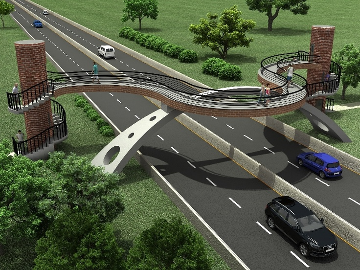 Rendering for a way Bridge