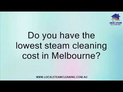 We always aim to give our customers with quality work on the budget. If you come across a steam cleaning service provider that has the lowest price, you may tell us and we will try to beat the price.