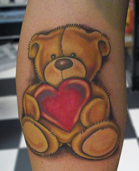 ~Teddy Bear~ maybe with child's name and date of birth in heart
