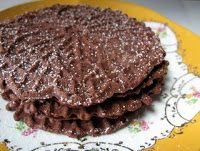 The Pizzelle Maker: Chocolate Pizzelle Recipe ( The Pizzelle Maker )