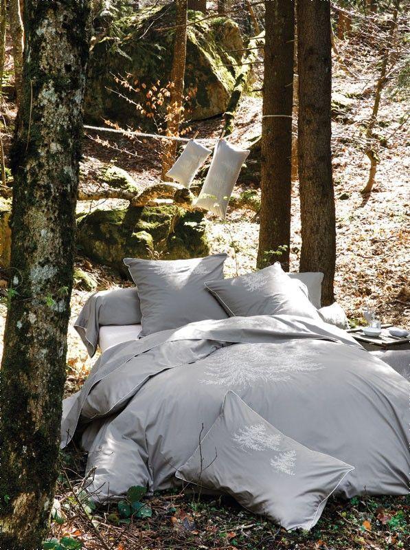 Parure de lit percale In the forest housse de couette 135x200 & taie - Sylvie Thiriez