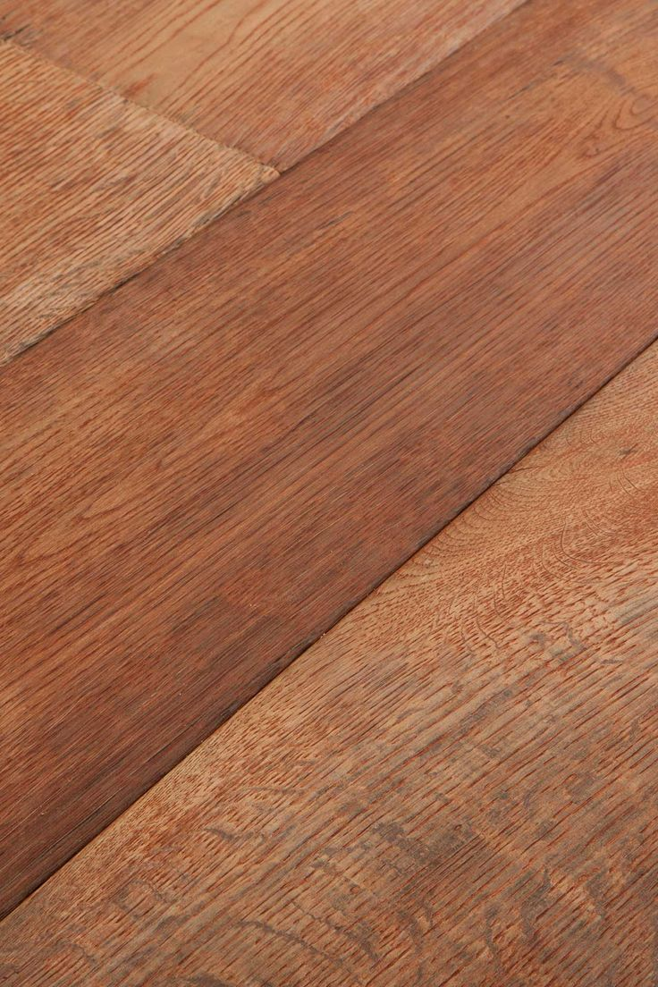 Bleached Red. Not so much bleached by the sun as burned by it. Attractive, but in an unconventional way. To live with it is to love it. Chapel Parket wooden flooring.