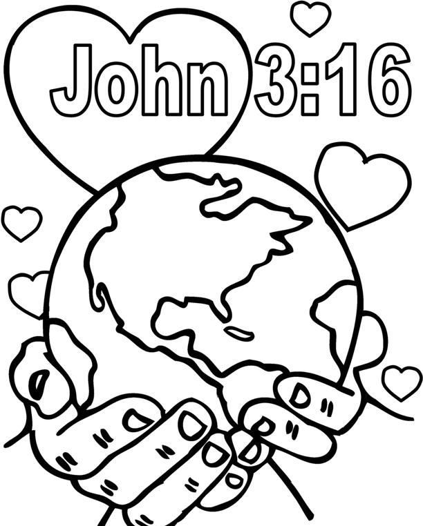 - God So Loved The World Coloring Pages Free Coloring Pages Printable  Coloring Pag… Sunday School Coloring Pages, Bible Coloring Pages,  Valentine Coloring Pages