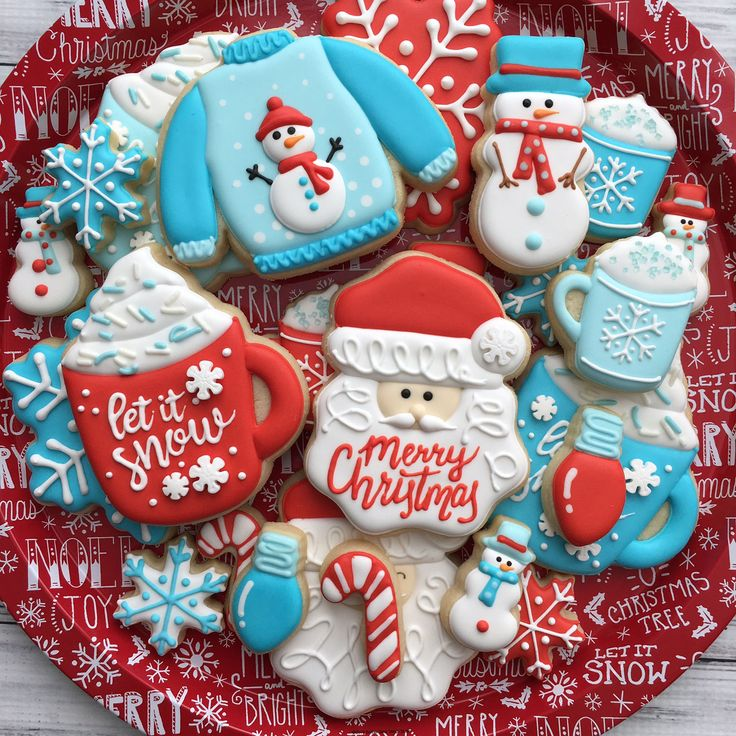christmas cookie decorations ideas
