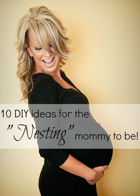 "10 DIY ideas for the ""Nesting"" mommy to be! - www.classyclutter.net"