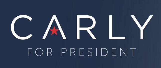 Carly Fiorina 2016 presidential campaign logo.