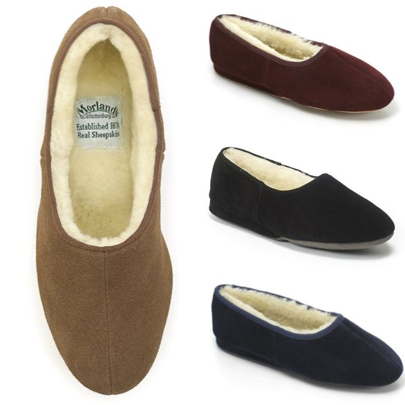 "Review on our Ayr slippers;  ""Beautifully made from top quality materials, these slippers are soft, warm and very hard wearing.- the only ones to have every winter!"""