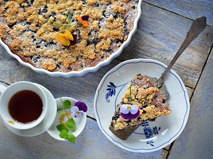 koláč borůvkový