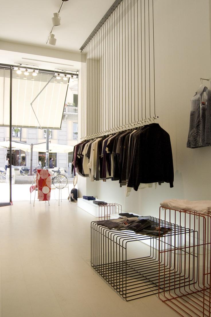 Fila Pop-up store, Milan. By sandellsandberg+Grow