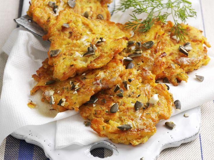 Kürbispuffer - smarter - Kalorien: 454 Kcal - Zeit: 50 Min.   eatsmarter.de