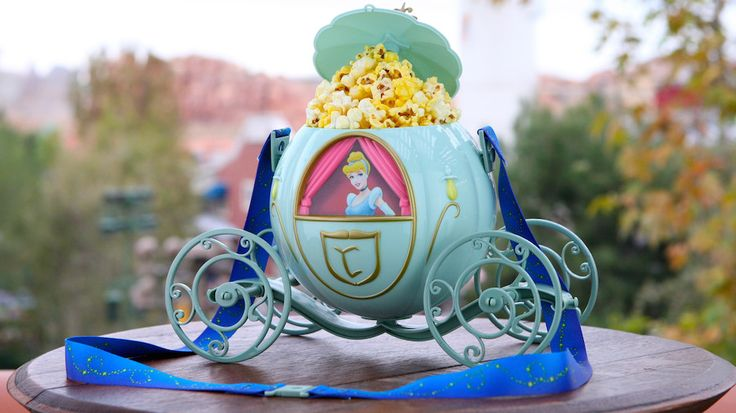 New Cinderella Premium Popcorn Bucket Coming to Disney Parks #DisneysHollywoodStudios @WaltDisneyWorld