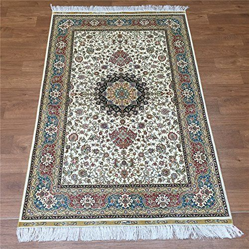 Camel Carpet Beige Silk Persian Rugs For Sale 100x152cm C...…