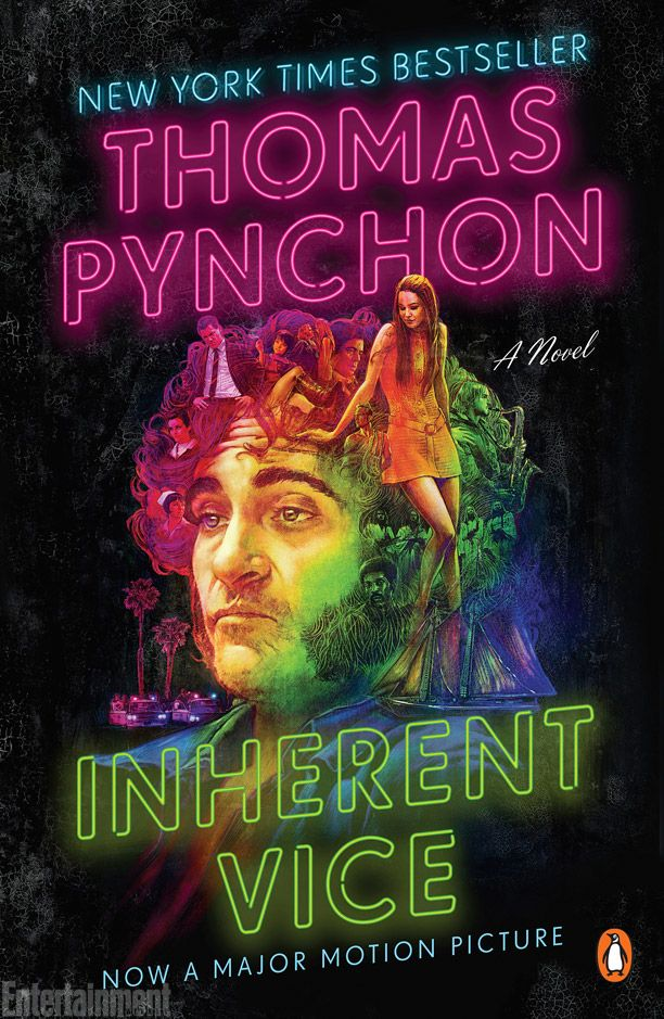 On Dec. 12, Paul Thomas Anderson's adaptation of Thomas Pynchon's seedy 2009 detective novel Inherent Vice hits theaters: http://shelf-life.ew.com/2014/10/30/penguin-releases-movie-tie-in-cover-for-inherent-vice/