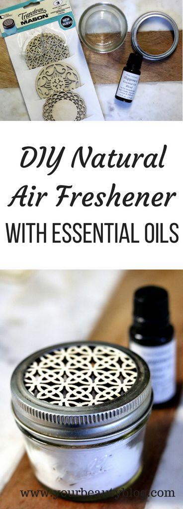 DIY Natural Air Freshener With Essential Oils - Everything Pretty #essentialoils