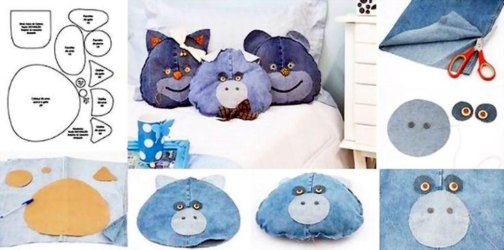 Jeans Pillow Pals