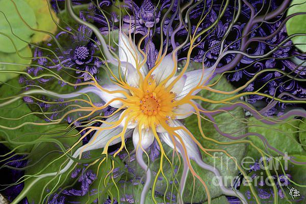 Bali Dream Flower Painting
